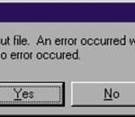 Revision Master: Warnung: Es ist kein Fehler aufgetreten