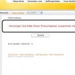 Symantec-Fehlermeldung: Übersetzen will gelernt sein